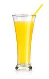 Orange juice isolated Stock Images