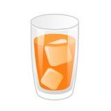 Orange juice isolated illustration Royalty Free Stock Image