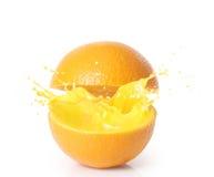 Orange juice isolated Stock Image