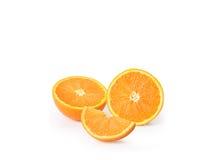 Orange juice isolated on white. Orange juice isolated on a white stock photo