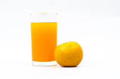 Orange juice. Royalty Free Stock Photography