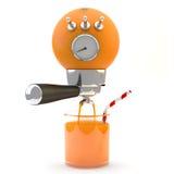 Orange juice machine Stock Images