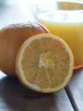 Orange Juice. Natural Orange Juice for breakfast Royalty Free Stock Photography