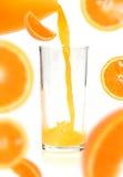 Orange juice of orange Stock Photo