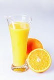 Orange juice, orange Stock Photos