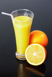 Orange juice, orange Stock Photography