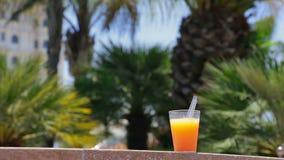 Orange juice. stock video footage