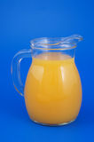 Orange juice in pitcher Stock Photos