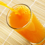 Orange Juice Pouring Royalty Free Stock Photography
