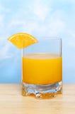 Orange juice sky Stock Photography