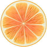 Orange juice slice Stock Photo