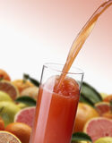 Orange Juice splash Royalty Free Stock Images