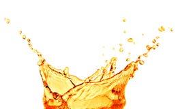 Orange juice splash Stock Image