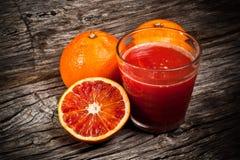 Orange juice tarot Stock Photo