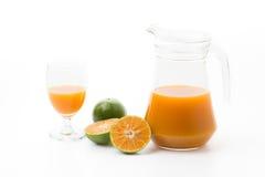 Orange juice Stock Images