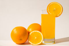 Orange juice. Will provide a fresh supply of energy for the whole day royalty free stock image