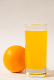 Orange juice. Will provide a fresh supply of energy for the whole day Stock Photography