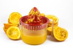 Orange juicer Royalty Free Stock Photos