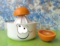 Orange juicer Stock Image