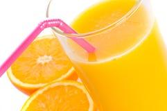 Orange and juise Royalty Free Stock Image