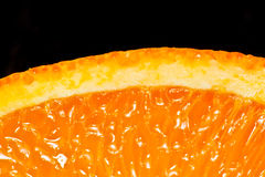 Orange juteuse Images libres de droits