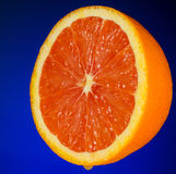 Orange juteuse Images stock
