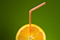 Orange juteuse. Images libres de droits