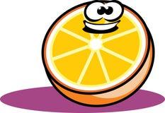 Orange Karikatur Stockfotos