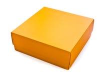 Orange Kasten Stockfoto