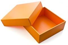 Orange Kasten Lizenzfreie Stockfotografie
