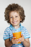 Orange kid. Stock Images