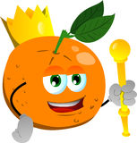 Orange king Stock Image