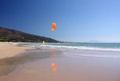 Orange kite Royalty Free Stock Photos