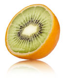 Orange-Kiwi Stock Image