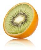 Orange-Kiwi Stock Image