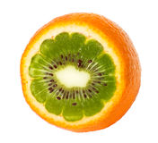 Orange Kiwi Stockbild