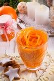 Orange Knife, the Julienne Peeler Royalty Free Stock Photos