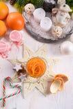 Orange Knife, the Julienne Peeler Royalty Free Stock Images