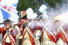 orange kommandosoldater s för konung Arkivfoto