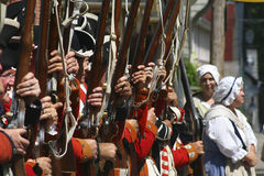 orange kommandosoldater s för konung Royaltyfri Fotografi