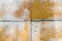 Orange konkreter Hintergrund Stockbilder