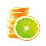 orange konstigt Arkivfoton