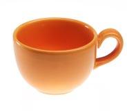 Orange kopp Royaltyfria Bilder