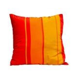 orange kudde Arkivbilder