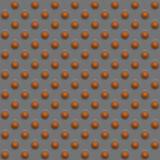 Orange Kugelauslegung Stockbild