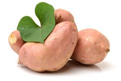 Orange Kumara Sweet Potato Royalty Free Stock Image