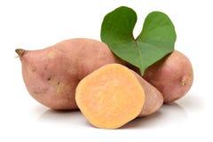 Orange Kumara Sweet Potato Royalty Free Stock Photos