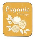 Orange Label Stock Images