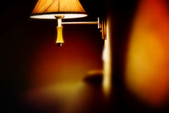 Orange lamp Royalty Free Stock Photos