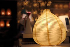 Orange lamp Royalty Free Stock Images